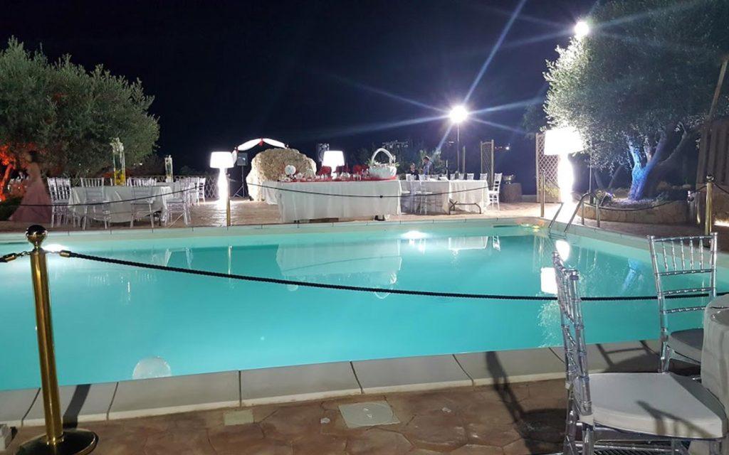 piscina villa quaranta matrimonio